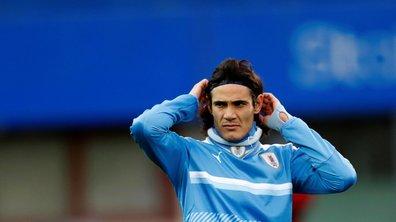Amical : le joli but de Cavani avec l'Uruguay