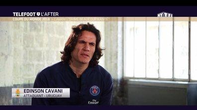 [Exclu Téléfoot 10/06] - Cavani : « J'aime beaucoup Kanté »