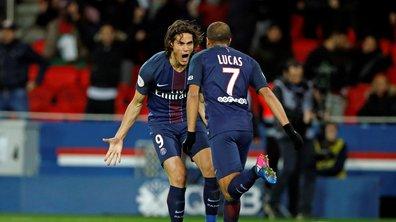 Ligue 1 - Auteur d'un but polémique, Lucas a sauvé le PSG sur le fil