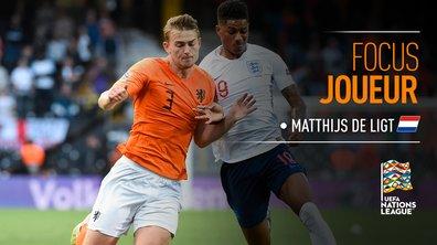 Pays-Bas - Angleterre : Voir le match de Matthijs de Ligt en vidéo