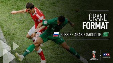 Russie-Arabie saoudite : le grand format du match en vidéo