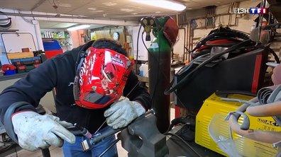 Ce père et son fils construisent une voiture de course qui va vous faire rêver