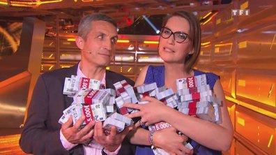 Cécile et Philippe repartent avec 260 000 euros : « A chaque question on a eu peur de perdre ! »