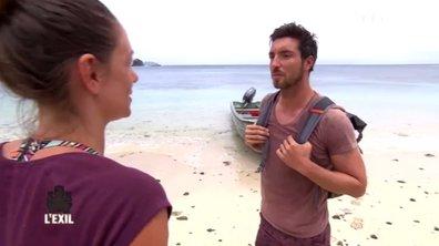 Etonné, Cédric débarque sur l'île de l'Exil… Les premières minutes du prochain épisode