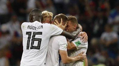 Revivez la dernière minute haletante d'Allemagne-Suède
