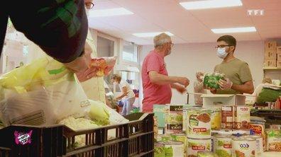 Centre de distribution (Eure) - Au coeur des Restos du Coeur du 3 août 2020