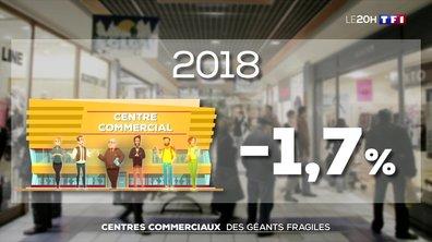 Centres commerciaux, des géants fragiles
