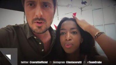 L'instant cute : Vincent Cerutti et Hapsatou Sy partagent un moment tendre entre deux répétitions