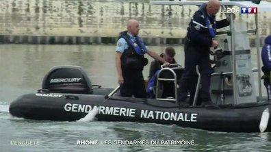Ces gendarmes qui veillent sur les trésors du Rhône