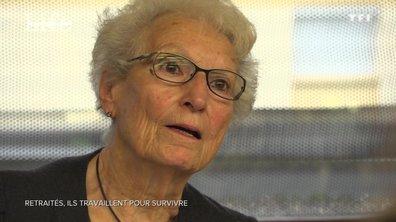 Ces retraités qui travaillent pour survivre