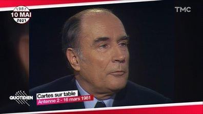 """""""C'est ça le courage politique"""" : le soir où François Mitterrand s'est déclaré contre la peine de mort"""
