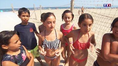 """""""Cet été avec vous"""" : jouer avec les enfants au club de plage de Canet-en-Roussillon"""