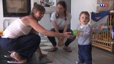 Cette famille de trois enfants souhaite rester confinée