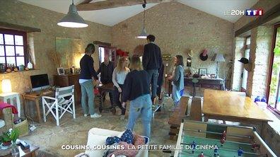 Cette famille rejoue les scènes du cinéma français en plein confinement