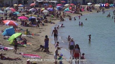Chaleur à Marseille : les plages bondées, la distanciation difficilement respectée