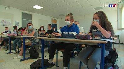 Chaleur et masque à l'école : les élèves s'adaptent