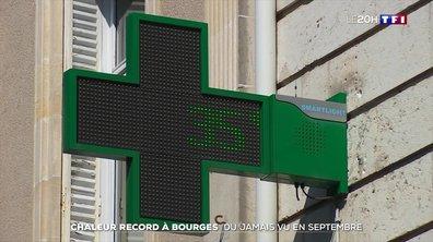 Chaleur record à Bourges, du jamais vu en septembre