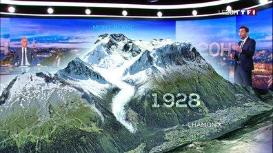 Chamonix : focus sur la fonte de la Mer de glace