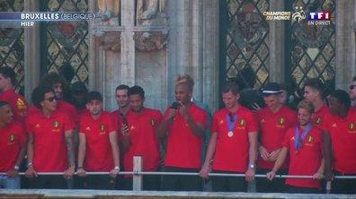 Champions du monde : Les Diables rouges reçus en héros