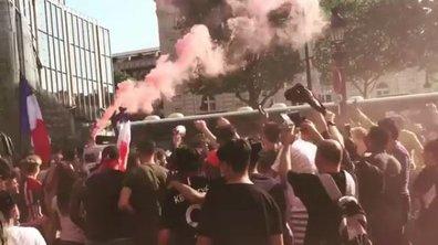 VIDEO - La victoire des Bleus fait vibrer les Français