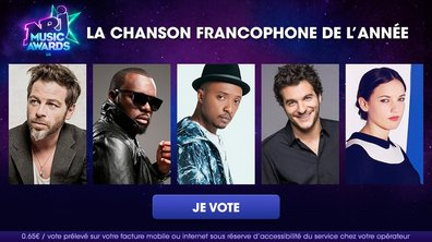 """Votez pour la """"Chanson Francophone de l'Année"""" !"""