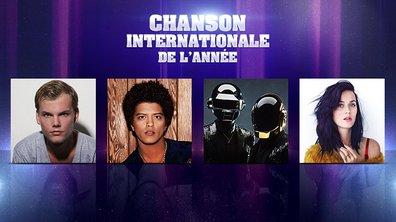 NRJ Music Awards - Qui est l'interprète de la Chanson Internationale de l'année ?