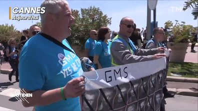 """Chaouch Express: à Cannes, les salariés de GM&S sont venus pour """"tout péter"""""""