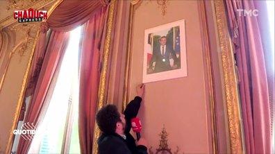 Chaouch Express : a-t-on le droit de décrocher le portrait d'Emmanuel Macron ?