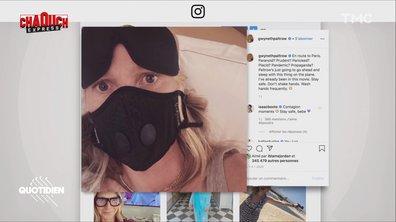 Chaouch Express : de Gwyneth Paltrow aux supporters lyonnais, des masques partout mais pour quelle efficacité ?