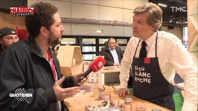 Chaouch Express : défilé politique au salon Made in France