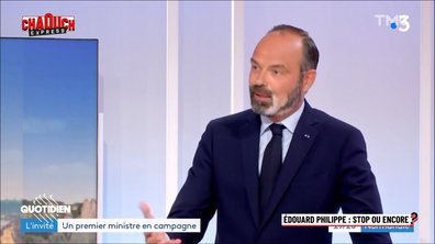 Chaouch Express : Edouard Philippe, stop ou encore ?
