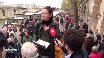Chaouch Express : incendie à Notre-Dame, le jour d'après, les Français sous le choc