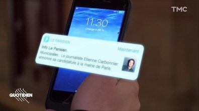 Chaouch Express – Mairie de Paris : on a fait croire à la candidature d'Étienne Carbonnier (et les élus ont foncé tête baissée)