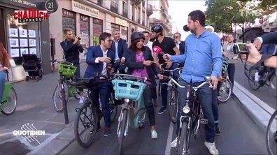 Chaouch Express : on a passé une journée à vélo avec Anne Hidalgo