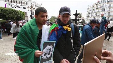 Chaouch Express : on a pu interroger les jeunes algériens dans la rue
