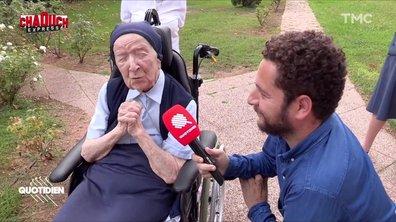 Chaouch Express : on a rencontré Sœur André, doyenne de l'Europe et reine des vannes