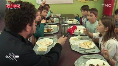 Chaouch Express : on a testé le repas végétarien dans les cantines