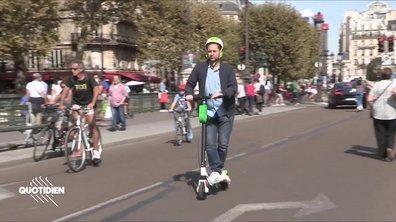 Chaouch Express : Paris sans voiture (mais en trottinette)