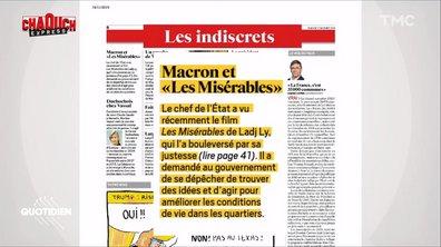"""Chaouch Express : pourquoi Macron a-t-il eu besoin des """"Misérables"""" pour entendre les problèmes des banlieues ?"""