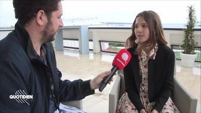 Chaouch Express : rencontre avec Lise Leplat Prudhomme, 10 ans, prodige et déjà Jeanne d'Arc