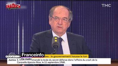 Chaouch Express : timides réactions du gouvernement après la polémique Noël Le Graët