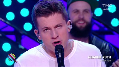 "Charlie Puth - ""Attention"" en live sur la scène de Quotidien"