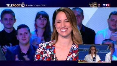 Charlotte Namura quitte Téléfoot
