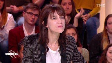 """Charlotte Gainsbourg réagit à la censure de Michael Jackson : """"Je ne trouve pas ça normal quand on touche à l'art de quelqu'un"""""""