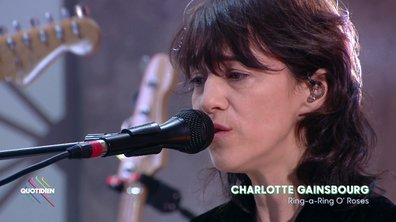 """Charlotte Gainsbourg : """"Ring-a-Ring O' Roses"""" en live pour Quotidien (Exclu web)"""