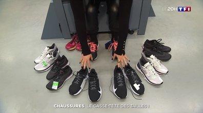 Chaussures : le casse-tête des tailles !