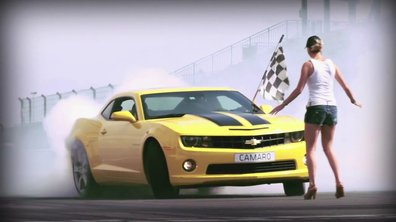 Vidéo : Chevrolet Camaro en mode Drift par Yvan Muller