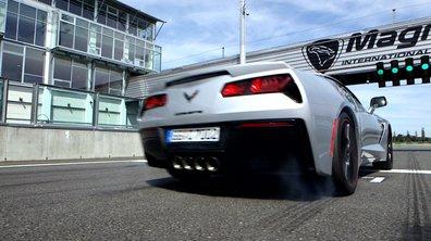 Teaser : la Chevrolet Corvette 2016 à l'essai dans Automoto