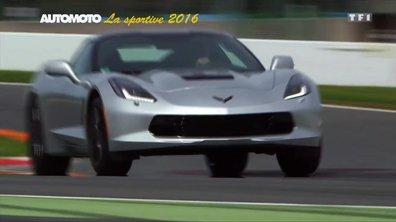 La Voiture Sportive de l'Année 2016 est la Corvette C7 Stingray