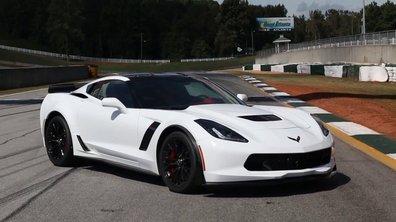 La Chevrolet Corvette Z06 s'offre un joli tour de piste !